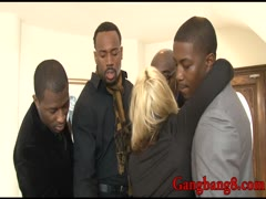 Big boobs whore Sarah Vandella dped by big black cocks