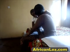 Short haired african lesbians licking ass and pussy