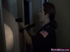 Police Fucking Cowgirl Pussy Licking Interracial