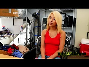 Hot blonde Ayla gets her coochie drilled by directors BBC