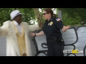 Black daddy dealing with the police