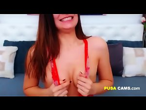 Screaming Orgasm SO LOUD Moaning and Intense Shaking Camgirl