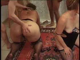BLACK FRENCH BBW GET SODOMIZED