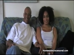 Hot amateur black couple fucking