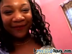 Pregnant Ebony Amateur Riding Big Dong Condom