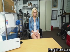 Blonde Babe Tiffany Watson Doggy Style Interracial