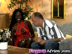African chick pantyhose jerking fetish white cock