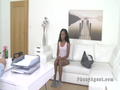 Black amateur babe interracial casting