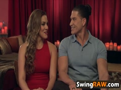 Swinger reality show party