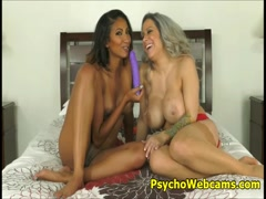 Step Mom Teaches Step Daughter Sex