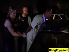 Maggie And Joslyn Interrogate Black Stud With Cunts