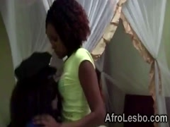 African lesbos fingering juicy pussies in bedroom