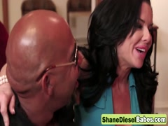 MILF Veronica Avluv sucks Shande Diesel's huge black cock