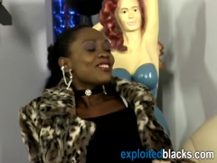 Ultimate ebony chick with round ass is getting intruded