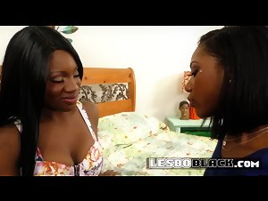 Ebony lesbian black cunts strip down